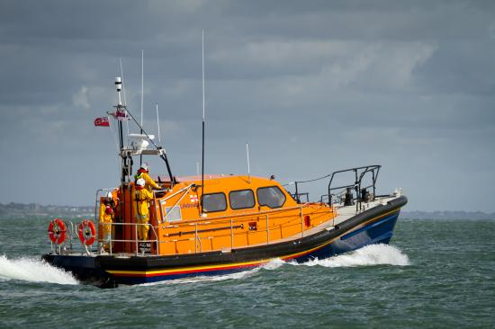 The Shannon class lifeboat. Image credit: RNLI