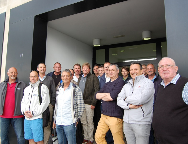 Pictured is the group of surveyors who met for training in Palma