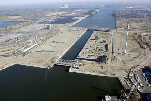 New Port of Antwerp lock. Image courtesy of the Belgian Government