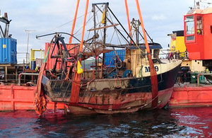 The report on the sinking of the scallop dredger JMT has been published