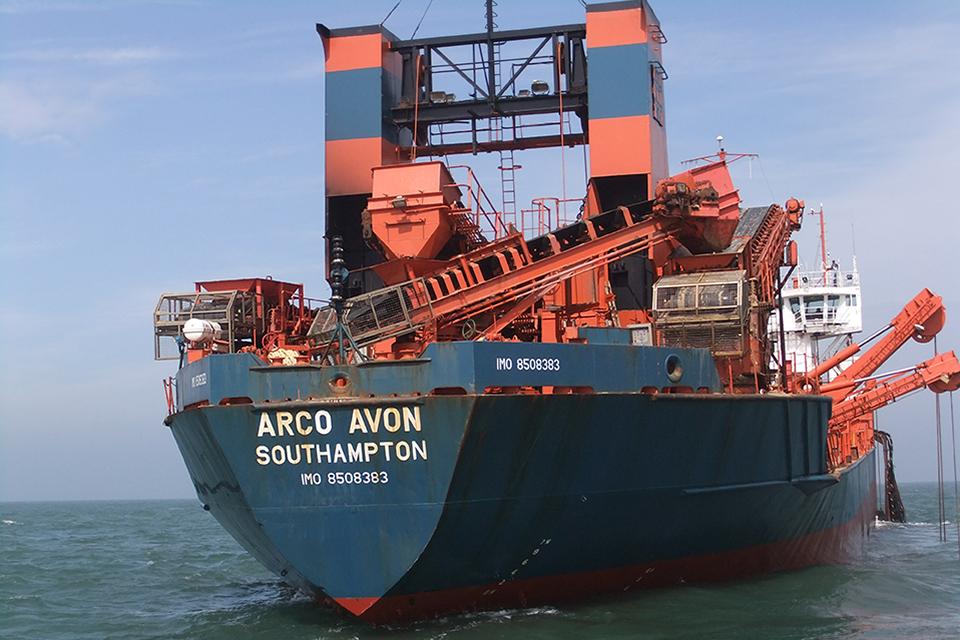 Photograph of Arco Avon at anchor