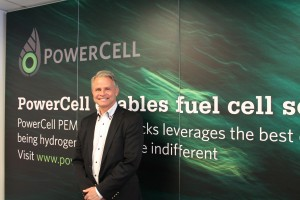Per Wassen, CEO of Powercell Sweden AB