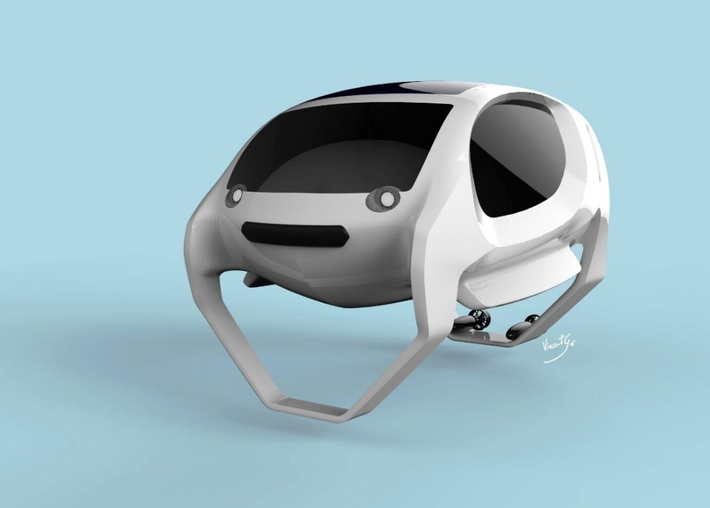 The new concept Sea Bubble zero emissions water taxi coming to a river near you soon?