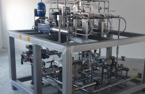 MAN Diesel & Turbo's prototype gas fuel pump and vapouriser unit (credit: MAN Diesel & Turbo)