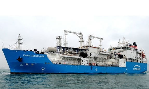 Delivery is complete of the world's first purpose built LNG bunkering ship
