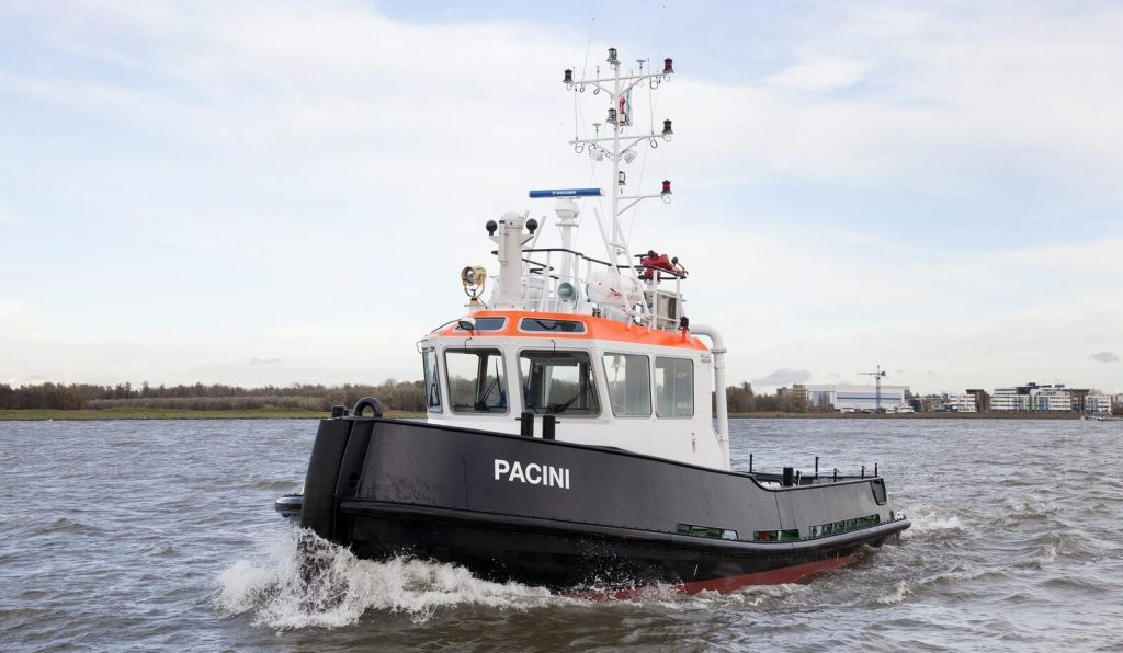 The WAAMpeller propeller will be based on a Promarin design that is typically found on a Damen Stan Tug 1606