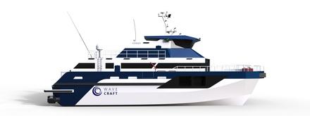 The new Wavecraft CTV  from Norwegian firm Umoe Mandal
