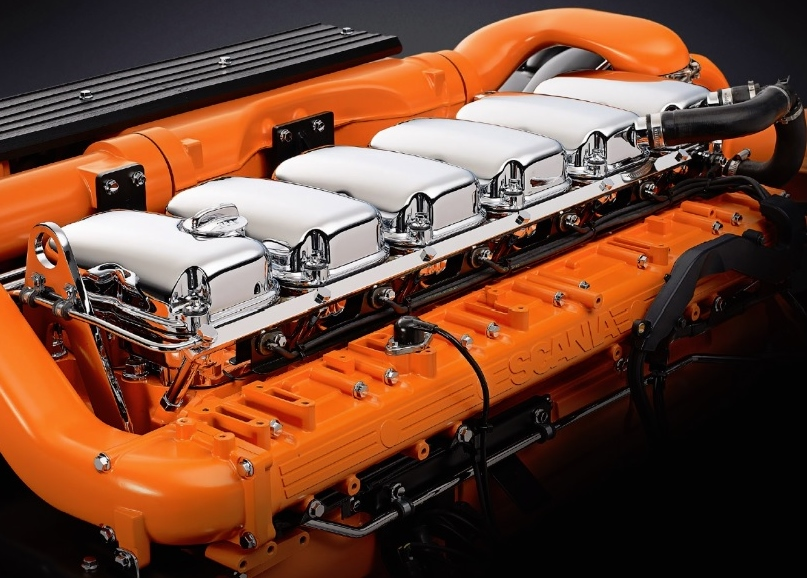 New Scania marine engine reduces emissions by up to 90