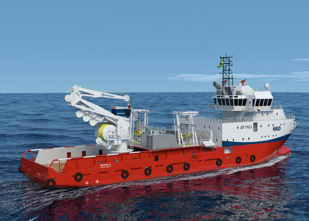 Rolls-Royce is involved in a subsea crane refit that can handle both wire and fibre