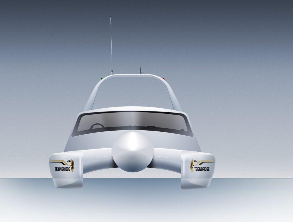 A purpose designed 14m catamaran will allow Teignbridge Propellers to test propeller efficiency