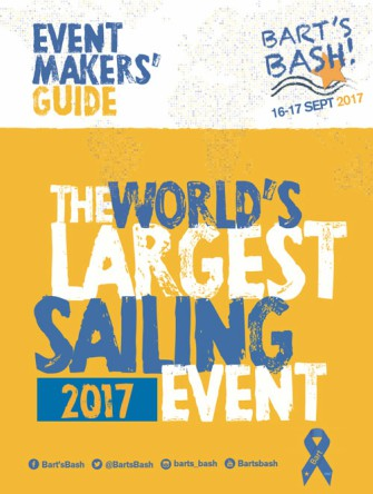 Bart's Bash registration is now open for the 2017 sailing event on 16/17 September