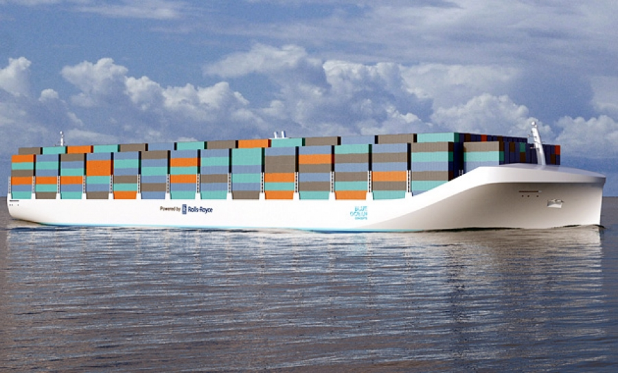 ABS to join Unmanned Cargo Ship Development Alliance. Image credit Rolls-Royce.
