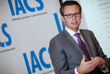 Knut Ørbeck-Nilssen, new IACS Chairman plans to introduce a range of new initiatives