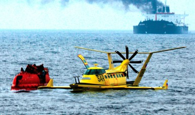 This bizarre looking Wing-in-Ground craft could cut search and rescue response times