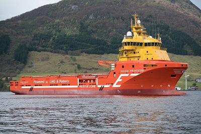 Offshore supply vessel Viking Princess
