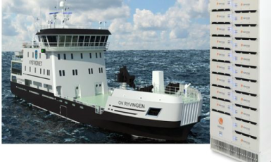 Rolls-Royce has chosen a Corvus Energy energy storage system for new a multipurpose hybrid vessel