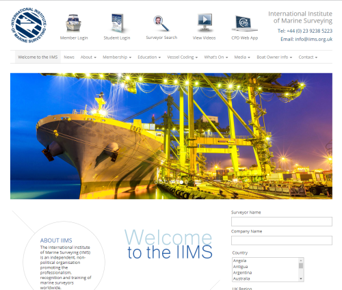 The IIMS web site attracted a record number of unique visitors recently