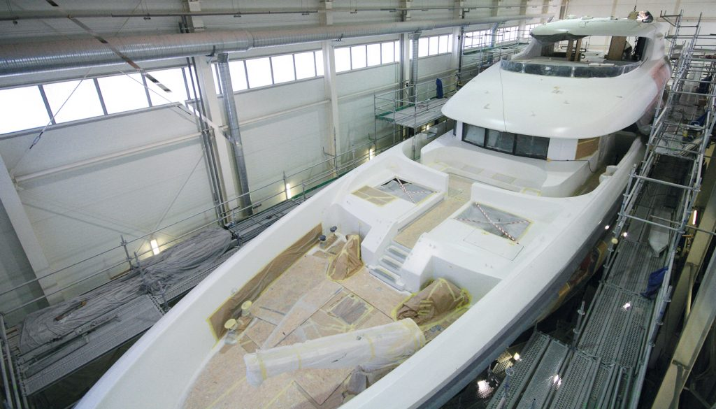 Conrad Shipyard has released a statement to say that Poland's largest every superyacht new build project is nearing completion