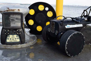 Deep Trekker ™ means underwater hull integrity inspections can be made remotely