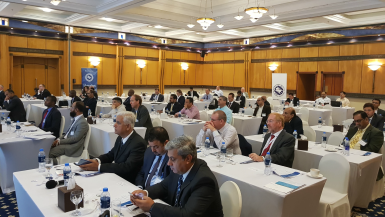Delegates participating in the IIMS 5th biennial UAE branch conference