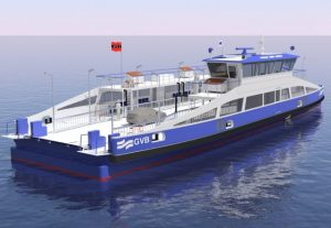 Just four minutes to recharge the Amsterdam ferries' batteries