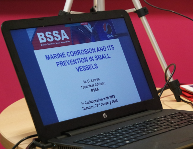 The one day corrosion training day and seminar organised by British Stainless Steel Association proved a big hit