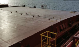 Bilge system back-flow causes significant cargo damage