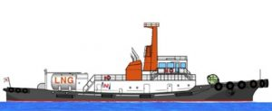 Japan's first certified LNG-fueled tugboat soon to be constructed