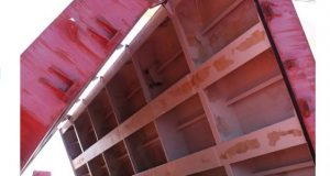 Cargo damage caused by leaking hatch covers