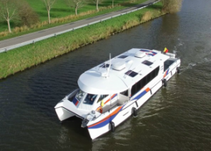 First hydrogen fuelled passenger vessel to be passed by a class society launched