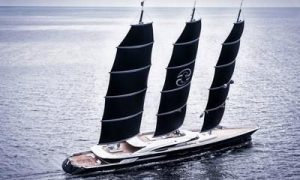 Black Pearl delivered by Oceanco is the world's largest sailing yacht in the world