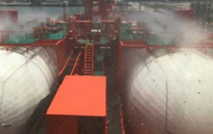 Deck water spray failure highlighted as one of the main deficiencies on LNG carriers