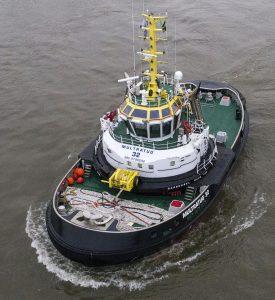 Revolutionary design of harbour escort tug launched