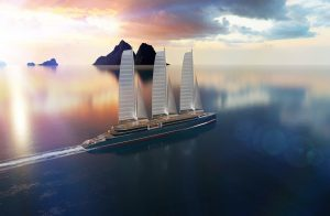 Sielseas concept for sail propelled cruise ships unveiled