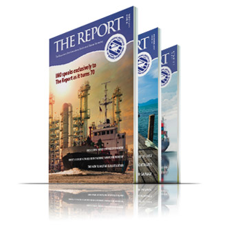 The Institute publishes the Report Magazine