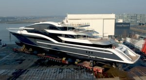 "Previously known as Y717, she has been described by the shipyard as being ""unlike any other superyacht afloat today""."