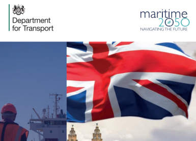 Maritime 2050 is a long term strategic collaboration between the Department of Transport and Maritime UK