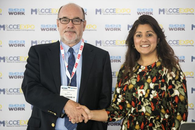 Nusrat Ghani MP (pictured right) with Mercator Media's CEO, Andrew Webster
