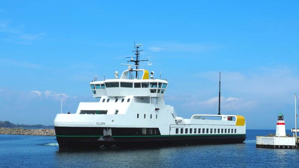 The world's first all-electric e-ferry has completed its maiden voyage
