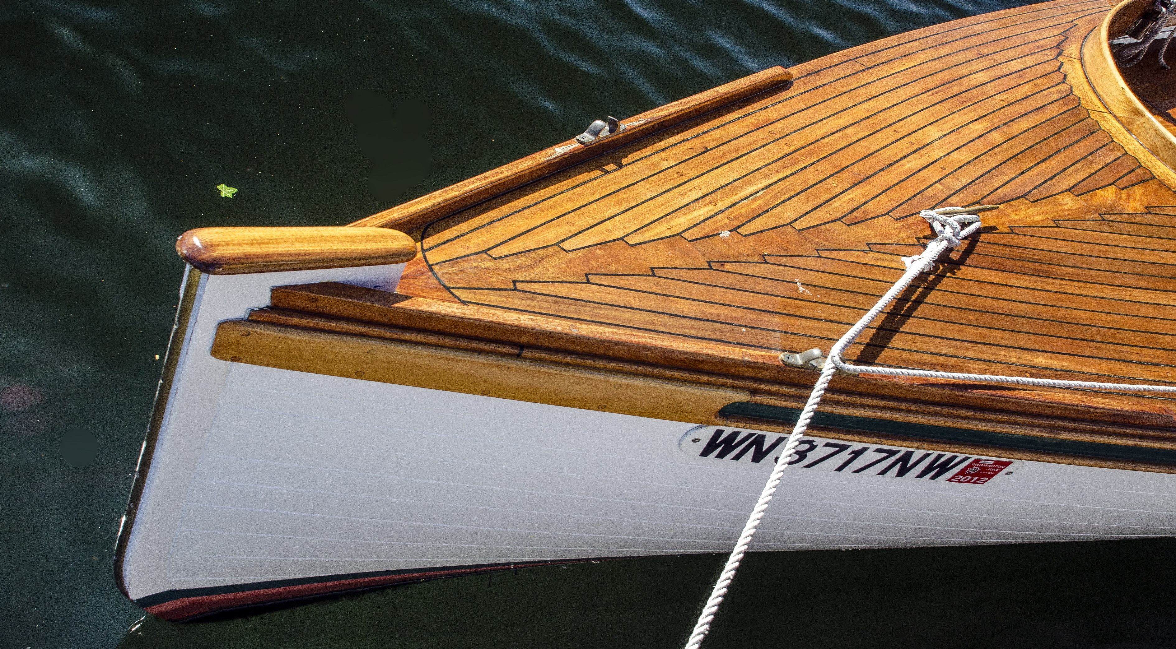 How to survey wooden boats: Image 3