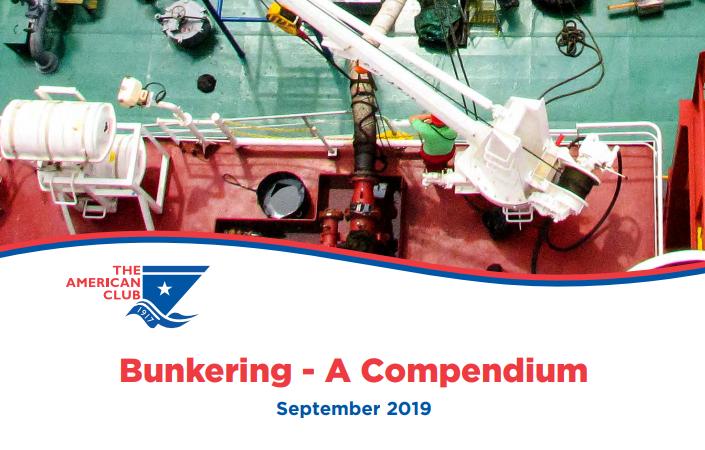Bunkering – A Compendium