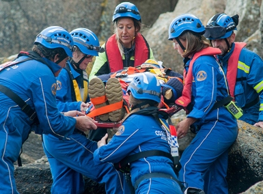 Lands End Coastguard Rescue Team
