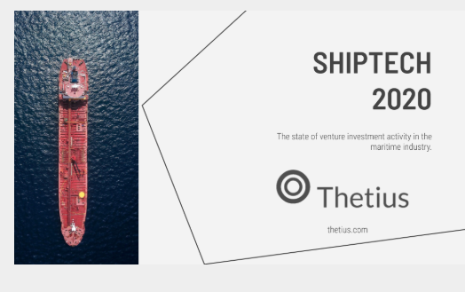 The Shiptech 2020 report shows an annual year on year investment decline once the Flexport project is removed