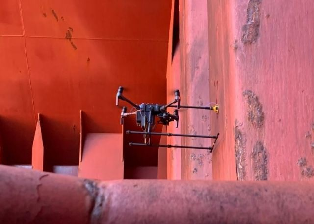 Bureau Veritas has completed its first survey by drone
