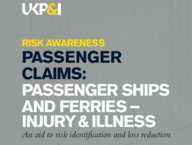 Risk identification guide for commercial vessel inspections published by UK P&I Club