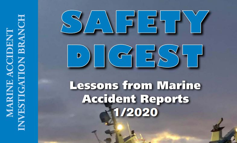 Latest MAIB Safety Digest published