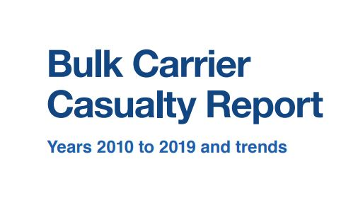 INTERCARGO publishes Bulk Carrier Casualty Report