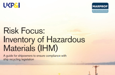New guide for compliance with the Inventory of Hazardous Materials