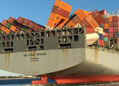 World Shipping Council report shows a decline in the number of containers lost at sea
