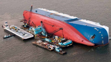The 2020 Allianz Safety and Shipping Review shows a decrease in shipping losses last year